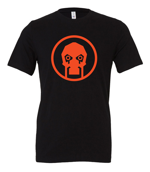 Scythe: Fenris (Black T-Shirt with Orange Logo)