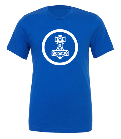 Scythe: Nordic Kingdoms (Blue T-Shirt with White Logo)
