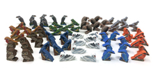80-piece set of Deluxe European Wingspan Birds (8 of each of the 10 types)