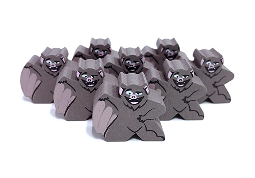 Bat - Character Meeple
