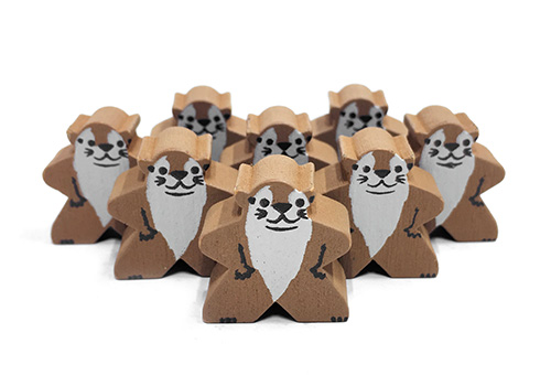 Otter - Character Meeple