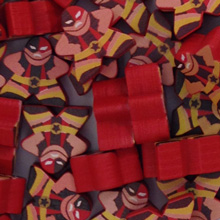 Red Luchador - Character Meeple
