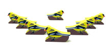American Goldfinch Meeples (8-pc set)