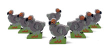Dodo Meeples (8-pc set) - From 2020 Extended Series