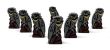 Tawny Frogmouth Meeples (8-pc set)